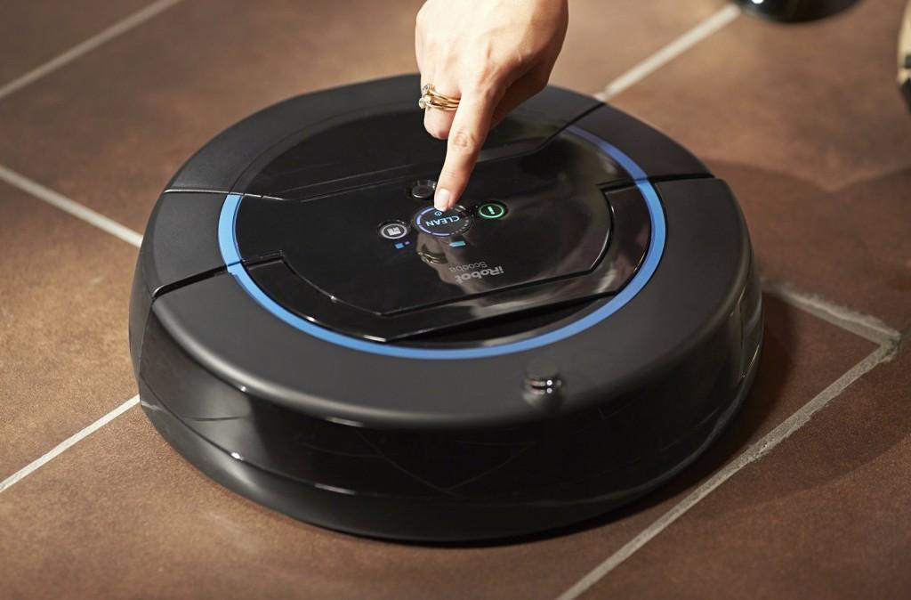 robot qui lave le sol