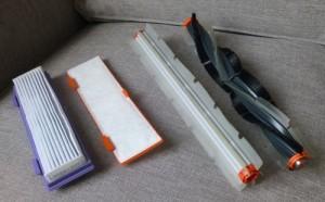 Robot aspirador de cepillos