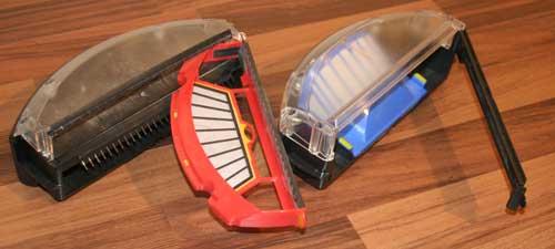 robot aspirador filtro
