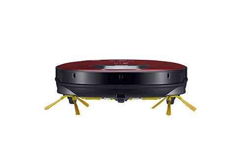 Le robot aspirateur LG Hombot VR8602RR vue de la face avant